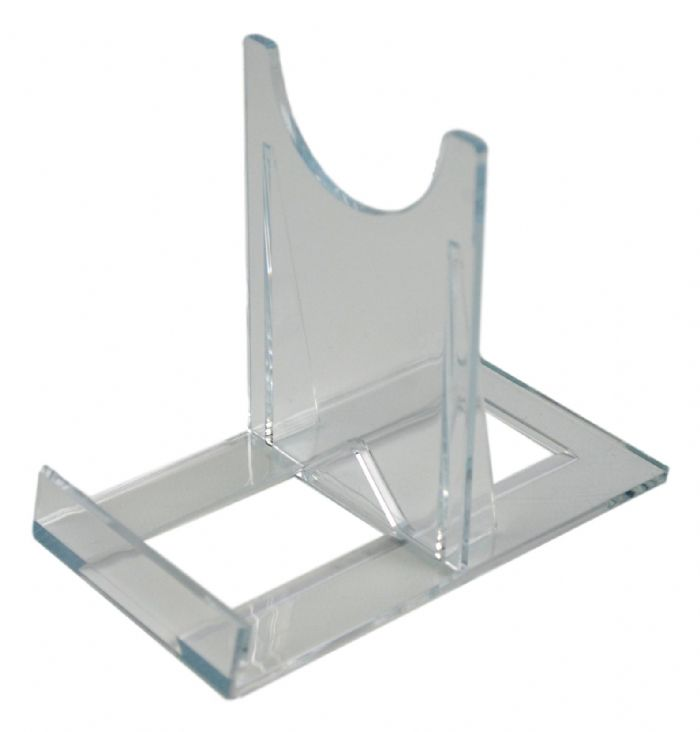 SS3 Blu-ray / DVD Extra Large Steelbook Clear Plastic Display Stands